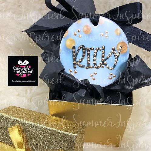 Ceramic 2-Sided - Custom Holiday Ornaments