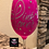 Thumbnail: Glitter Wine Glass - Pink Power