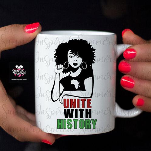Black History Month Ceramic Mug