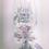 Thumbnail: Custom Glitter Wine Glass and Matching Card Set
