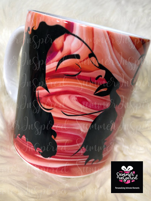 Custom Marble Mugs - Coffee Mug - Tea Mug - Hot Beverage Mug - Free Shipping