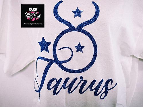Custom Zodiac Taurus T-Shirt