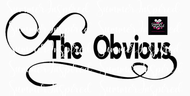 The Obvious Digital File