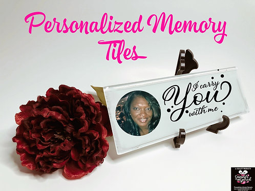 Memory Themed Tile Decor