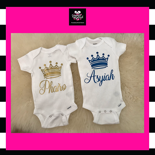 Customized Baby Onesie|Baby Shower Gift|For Baby