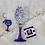 Thumbnail: Cancer Zodiac /Astrology Wine Glass & KeyChain Set