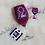 Thumbnail: Glitter Wine Glass & Key Chain Set