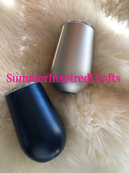 Stainless Steel Tumblers - Stemless