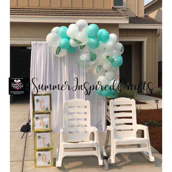 SIC Balloon Garland - Baby Shower - Gree
