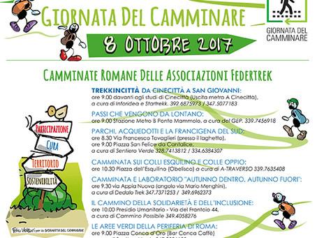 """""""Giornata del camminare""""- domani in tutta Italia"""