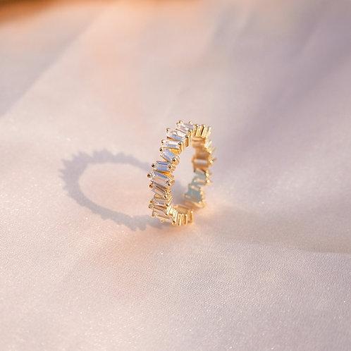 Paradise White Gold Ring