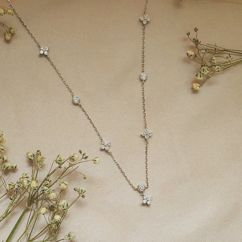 The Lucky Clover Silver Necklace