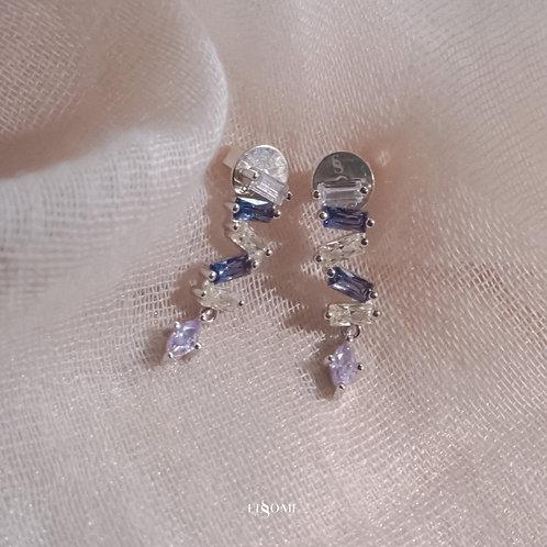 Paradise Silver Earrings