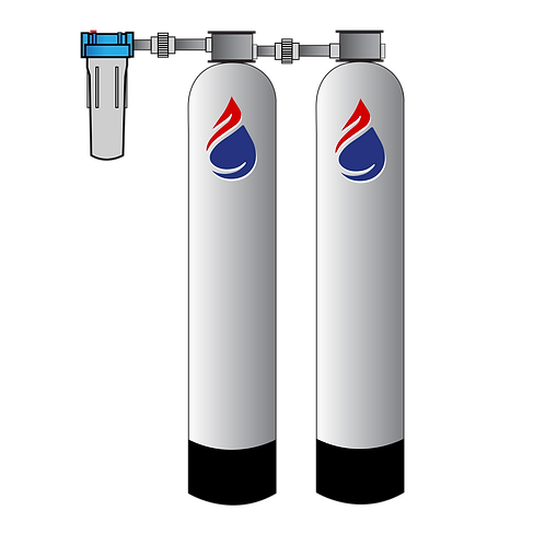 Whole House Filtration System GAC & Catalytic Carbon