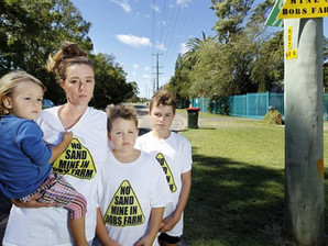 Bobs Farm Residents Shocked and Appalled by Sand Mine Proposal