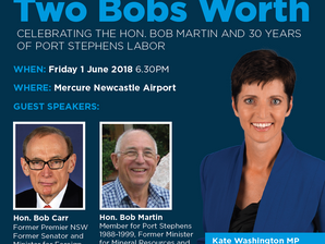 Two Bobs Worth - Fundraiser
