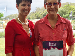 Business Leader Named Port Stephens Local Woman of the Year