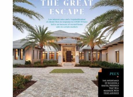 Featured in BUILDER Magazine - August 2020- Thibault Adrien and Dennis Cisterna Q&A about...