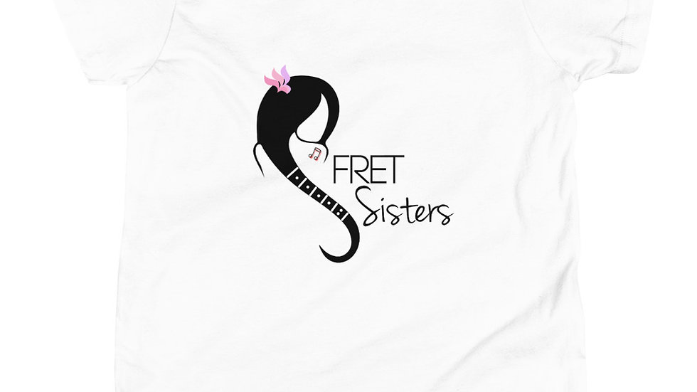 Fret Sisters Youth Short Sleeve T-Shirt