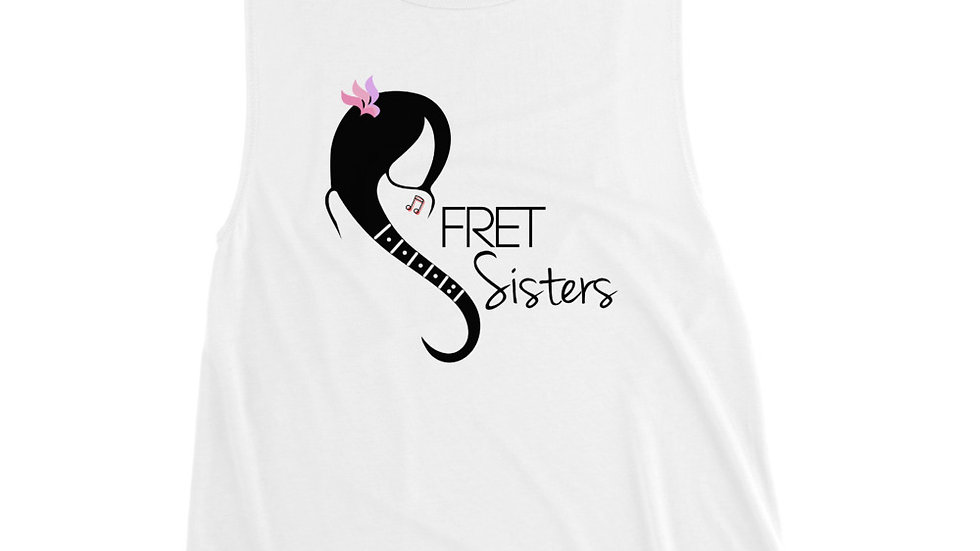 Fret Sisters Ladies' Muscle Tank