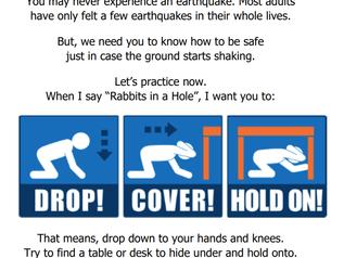 Earthquake & Fire Drill
