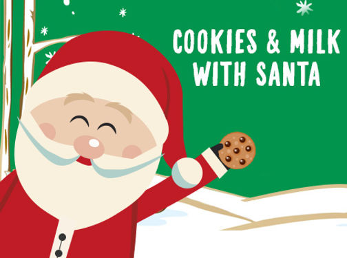Church Event Cookies With Santa