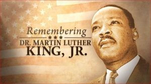 School is CLOSED in honor of Dr. Martin Luther King Jr.
