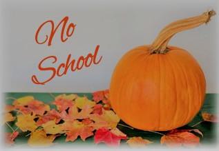 School CLOSED Monday November 1st!