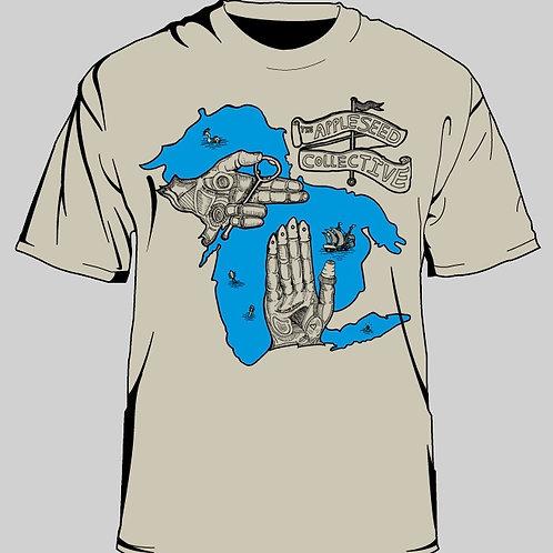 Veninsula Beige T-Shirt