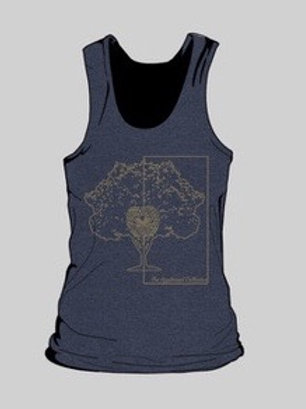 Vintage Navy Ladies Tank