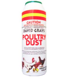 David Grays Poultry Dust 500g