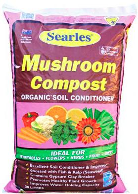 Searles Mushroom Compost 30 Litre