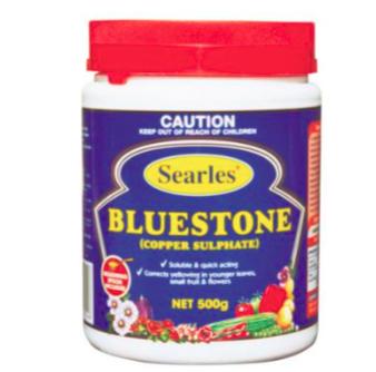 Bluestone (Copper Sulphate) 500g