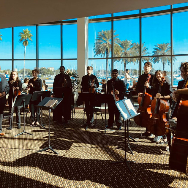 Orchestra at the Mahaffey