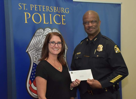 Thank you St. Pete Police