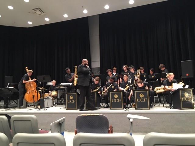 Jazz Big Band -UCF night