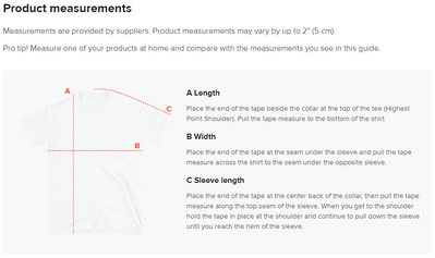 How To Interpret Our Sizing Guides