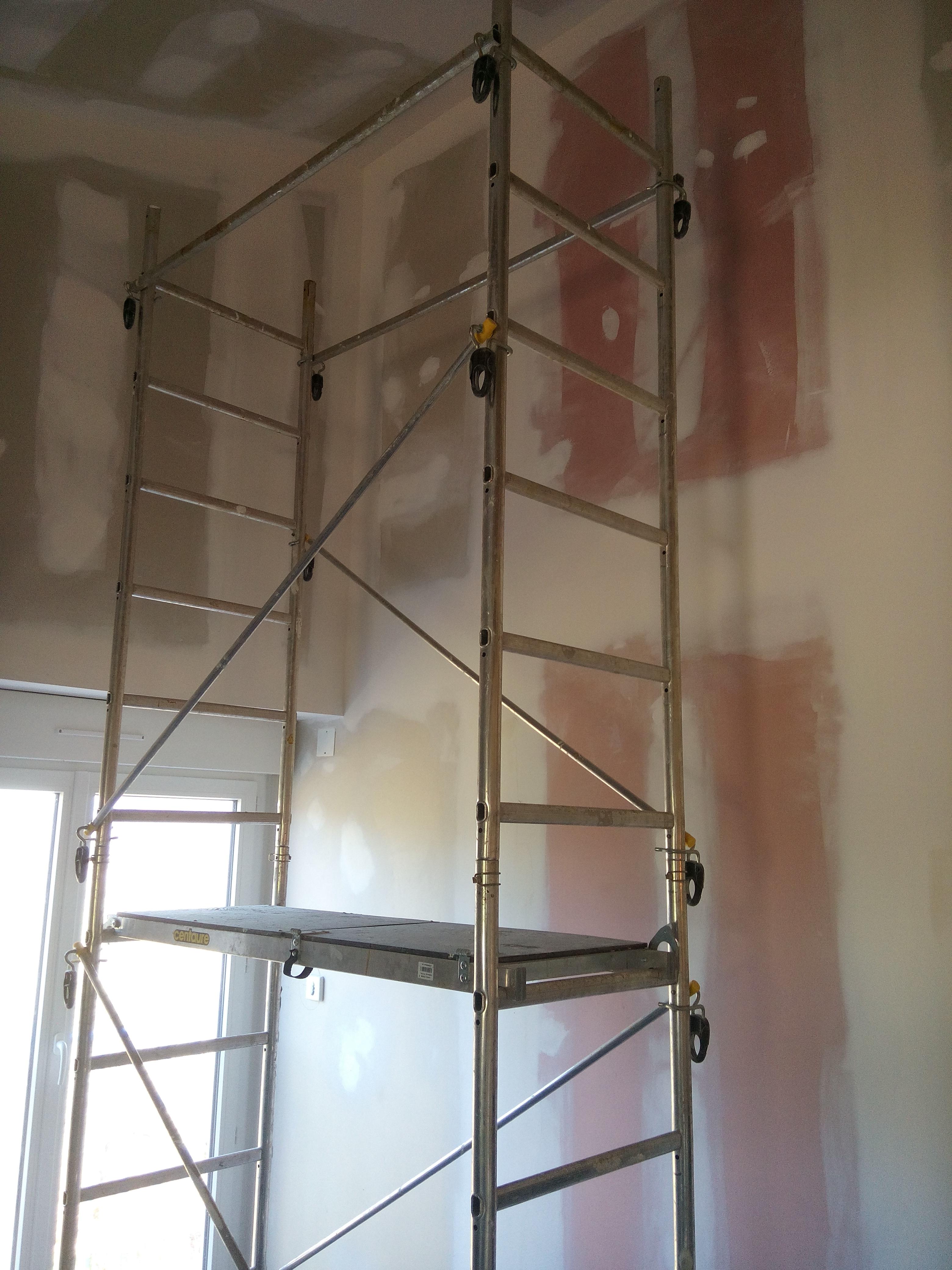 murs avant travaux