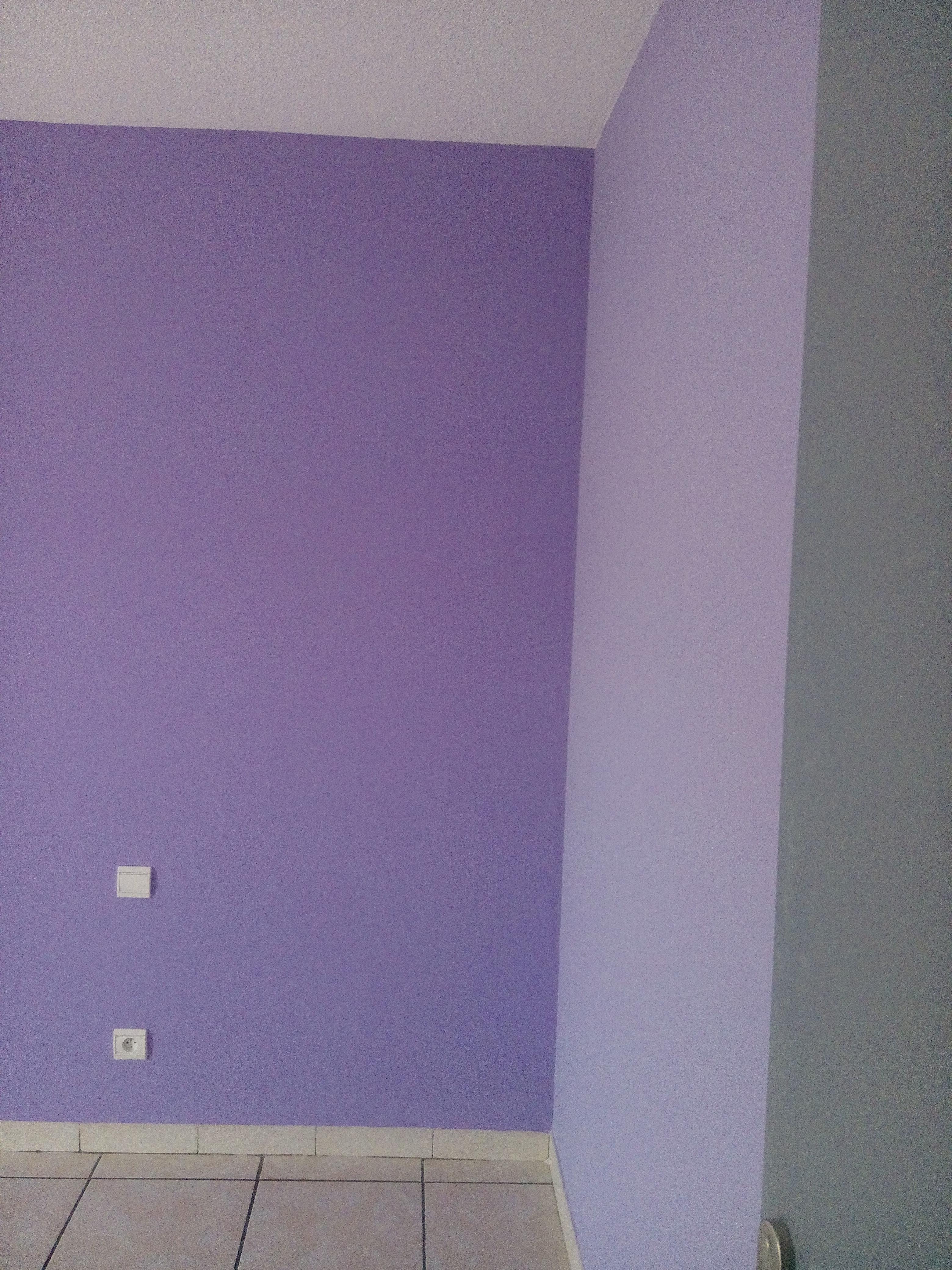 chambre bi couleurs