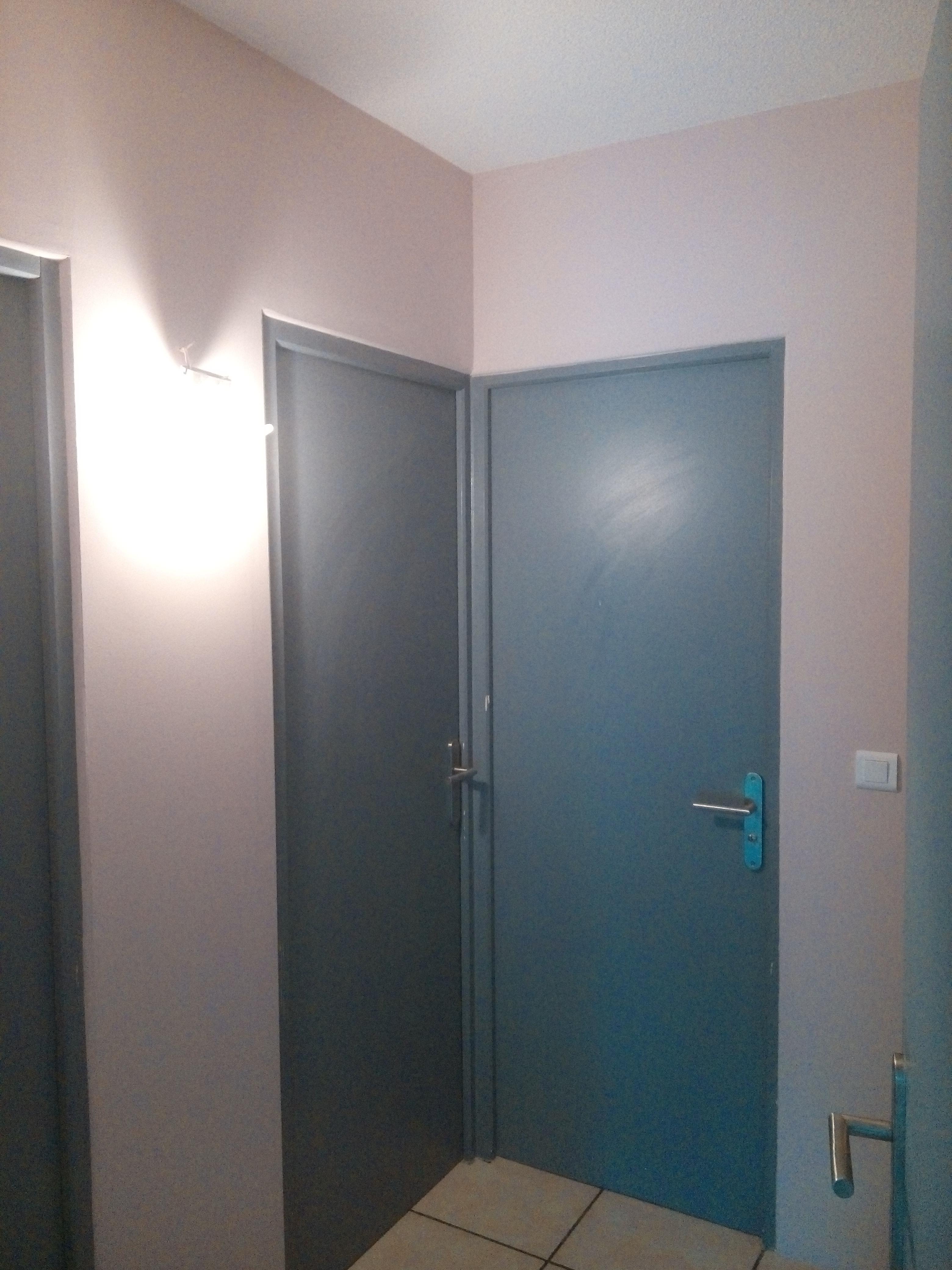 peinture couloir et portes