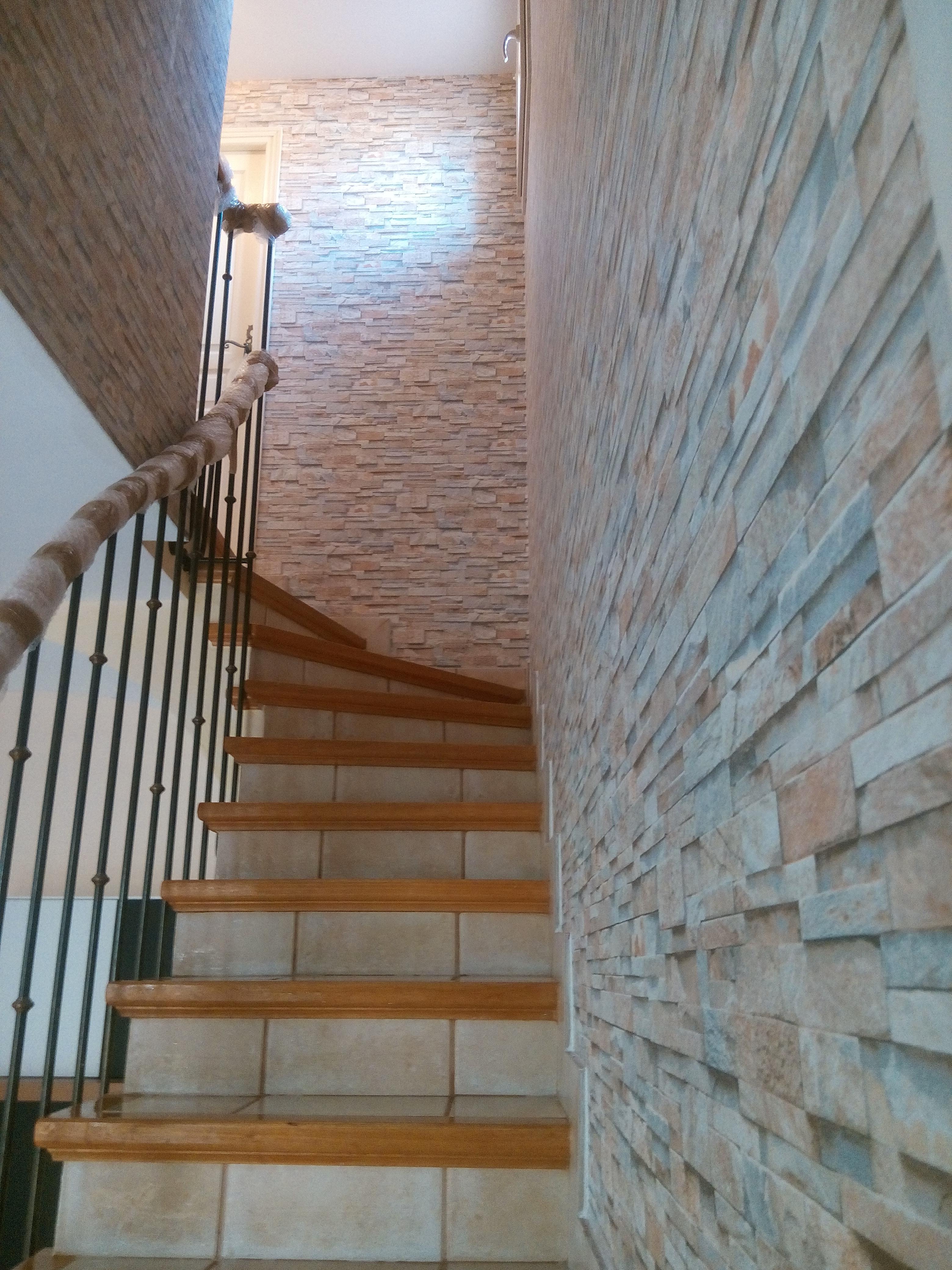tapisserie effet briques