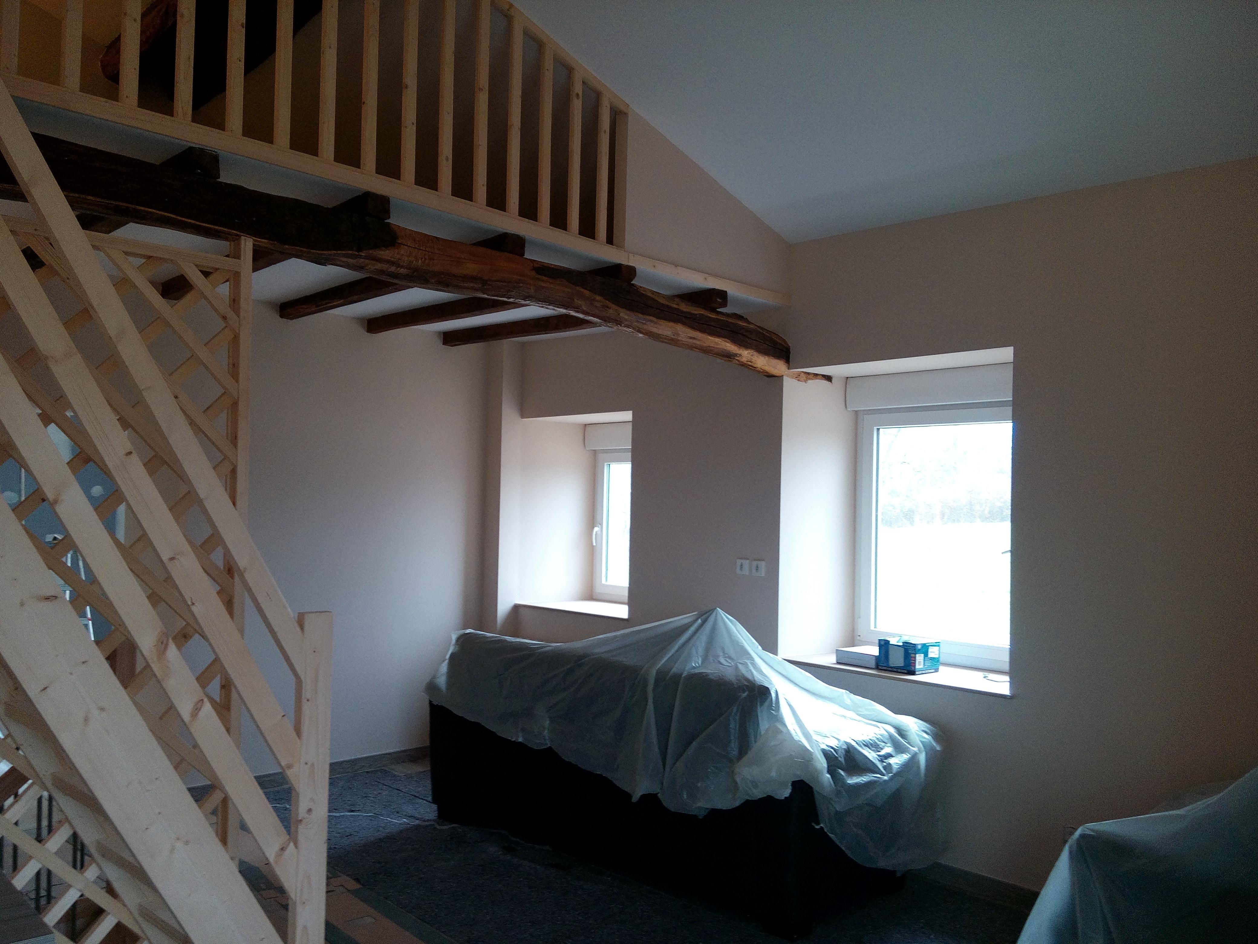 mise en peinture maison