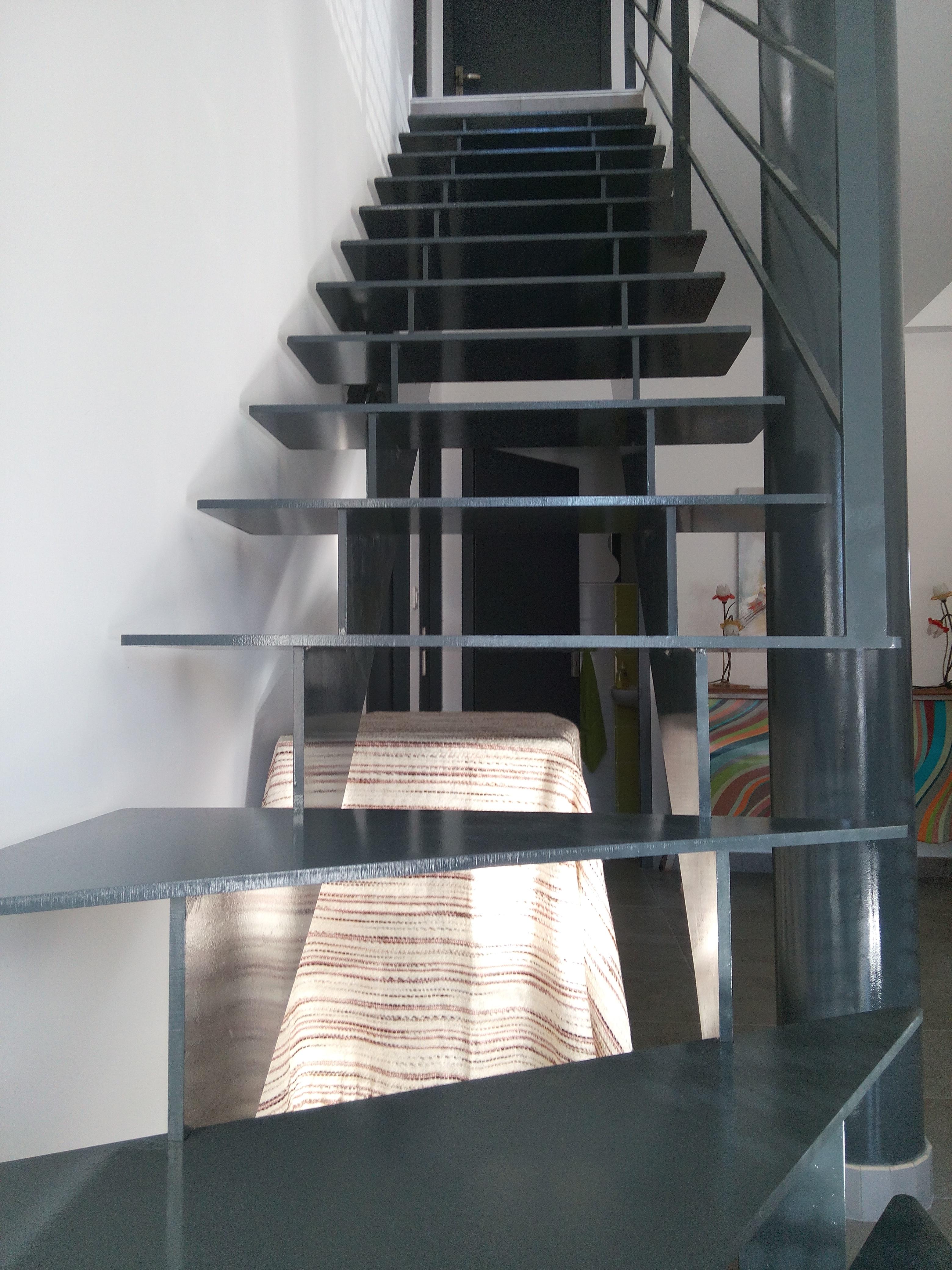 peinture escalier fer