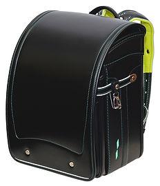 キッズアミィ エレファントキューブ 91107 ブラック×グリーンステッチ 1p