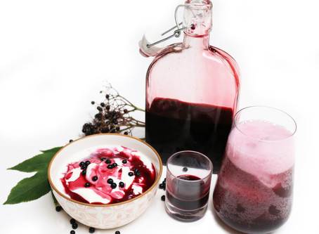 Elderberry Health Elixir – super-powered antioxidant