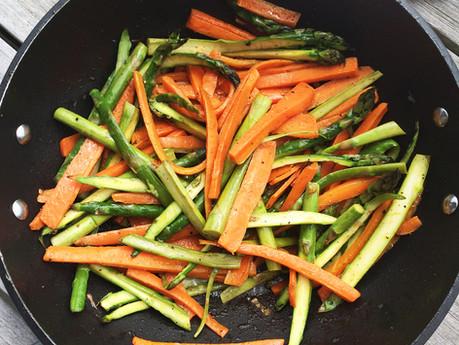 Asparagus & Carrot Medley
