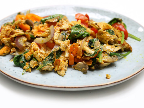 Egg & Veg Breakfast Style