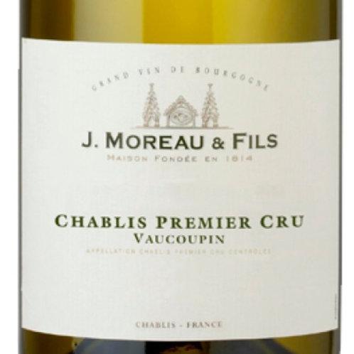 2016 J. Moreau & Fils Chablis 1er Cru Vaucoupin