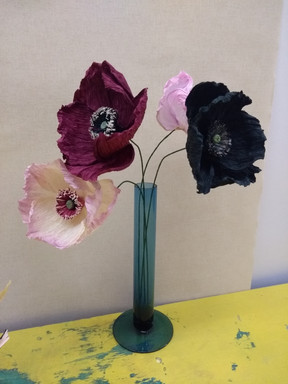 Dramatic poppies