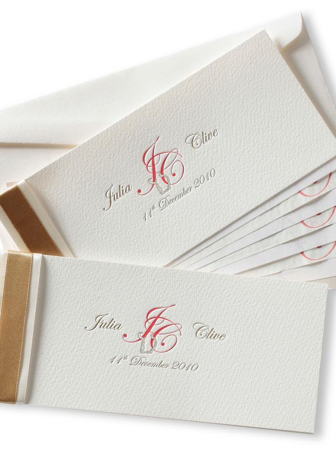 Chequebook invitation